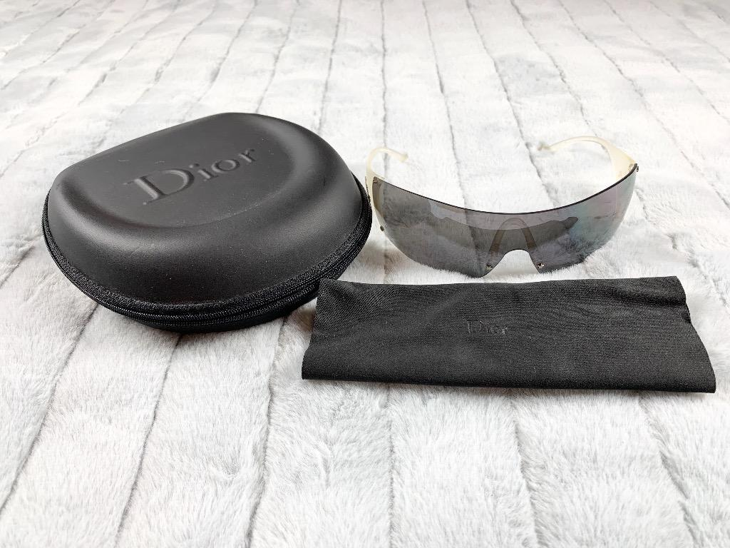 Christian Dior Ski 5 Sunglasses Authentic Vintage with case and dust cloth