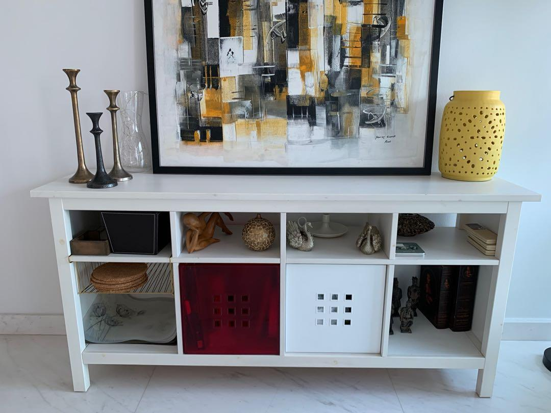 Console Table (Solid Wood) - Hemnes