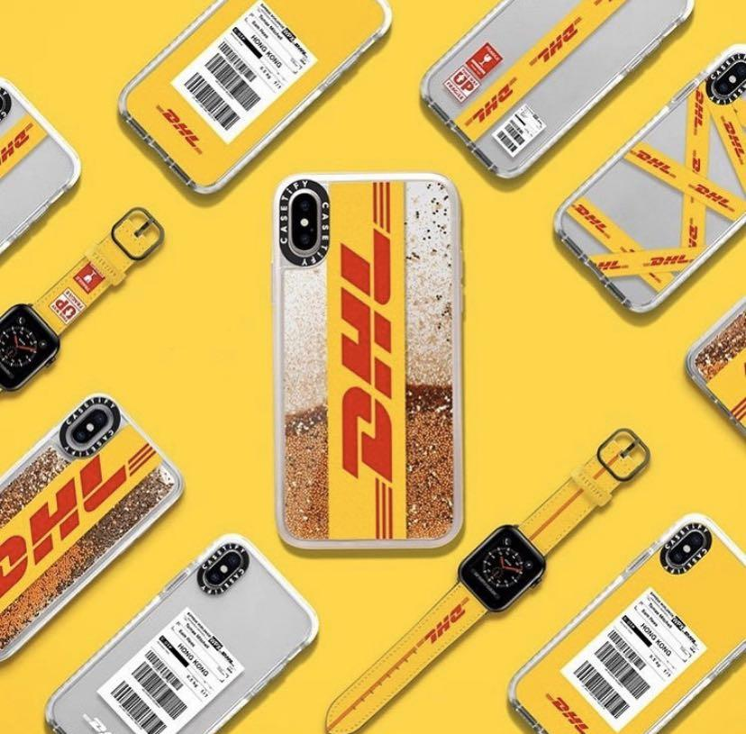 DHL x CASETiFY iPhone XR Case