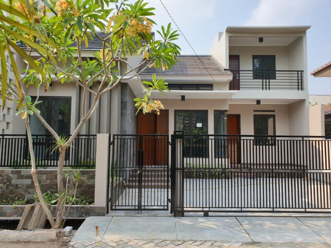 Dijual Rumah modern minimalis siap huni tanah bangunan luas lokasi strategis harga ekonomis
