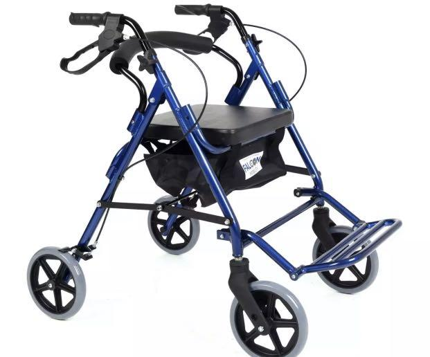 Falcon mobility dual functions rollator cum pushchair.
