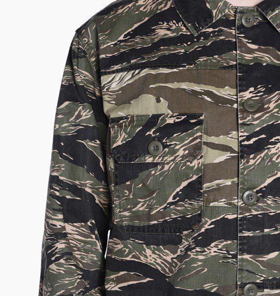 🔥FINAL SALE🔥  🇺🇸 FUCT SSDD U.S. TIGER CAMO SHIRT