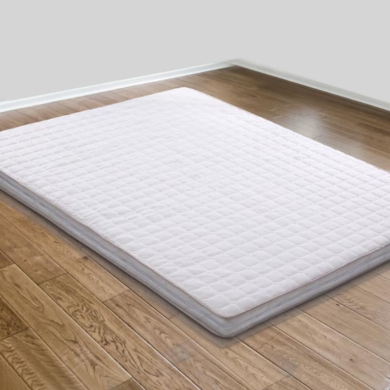 Giselle Bedding Memory Foam Mattress Topper Bed Underlay Cover King 7cm