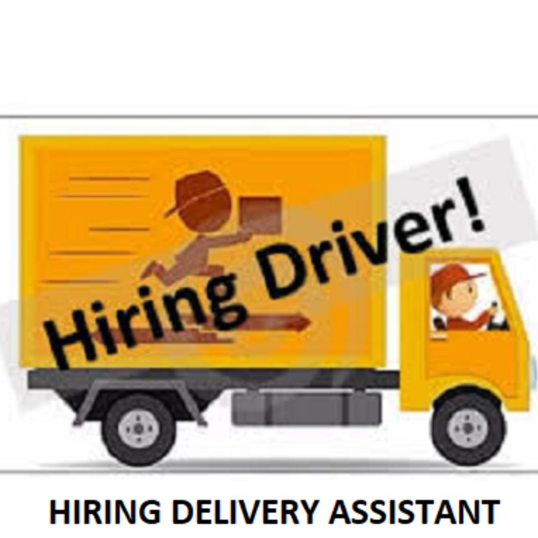 HIRING DELIVERY ASSISTANT