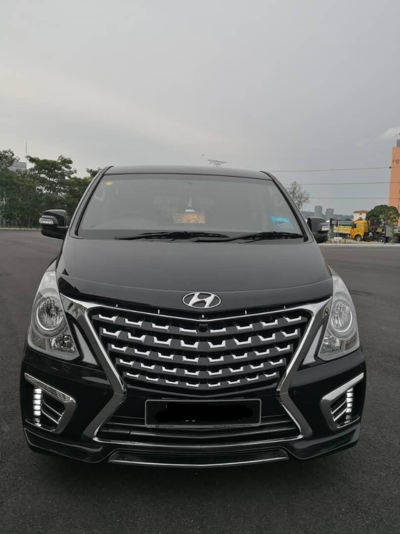 Hyundai Starex Grand Royal - Kereta Sewa Murah Bangi