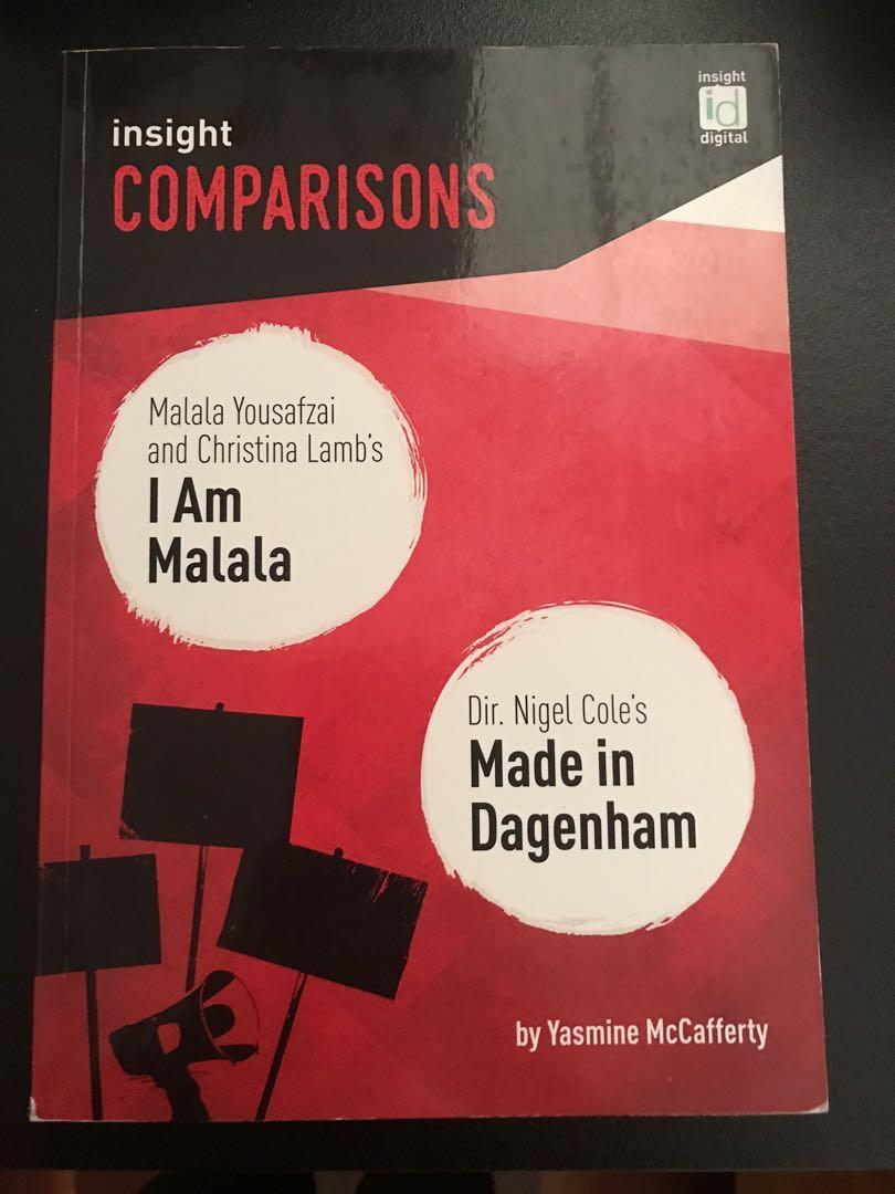 I am Malala and Made in Dagenham Insight Comparisons