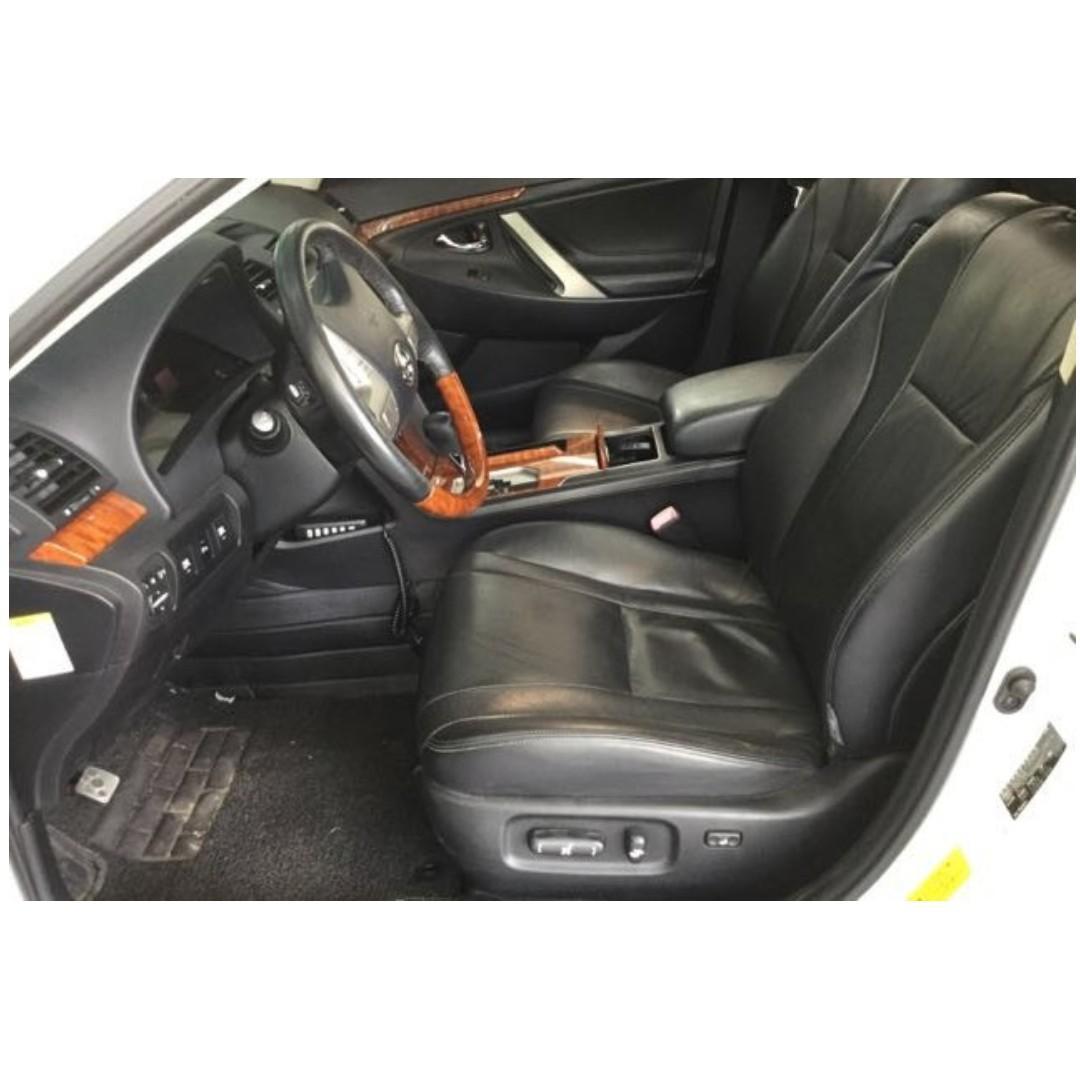 Jc car 2010年Toyota Camry 2.4L 頂級G版 天窗 雙動電椅 安卓機 天窗 定速 稀有白色 豪華房車