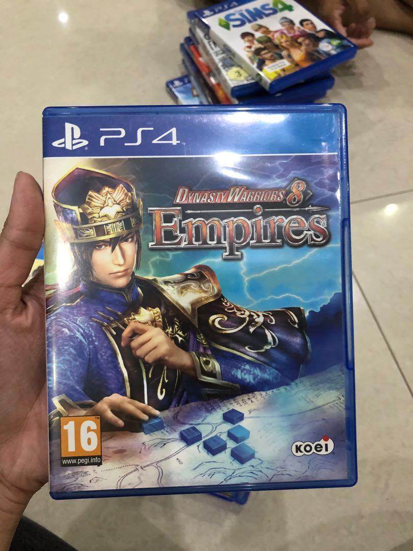 Kaset PS4 Dynasty warriors 8 Empires