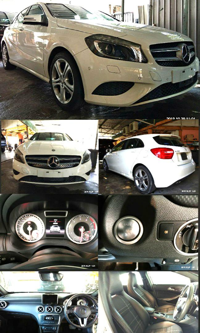 MERCEDES A180SE 1.6TURBO RECON~2015 ON THE ROAD PRICE RM119,888.88
