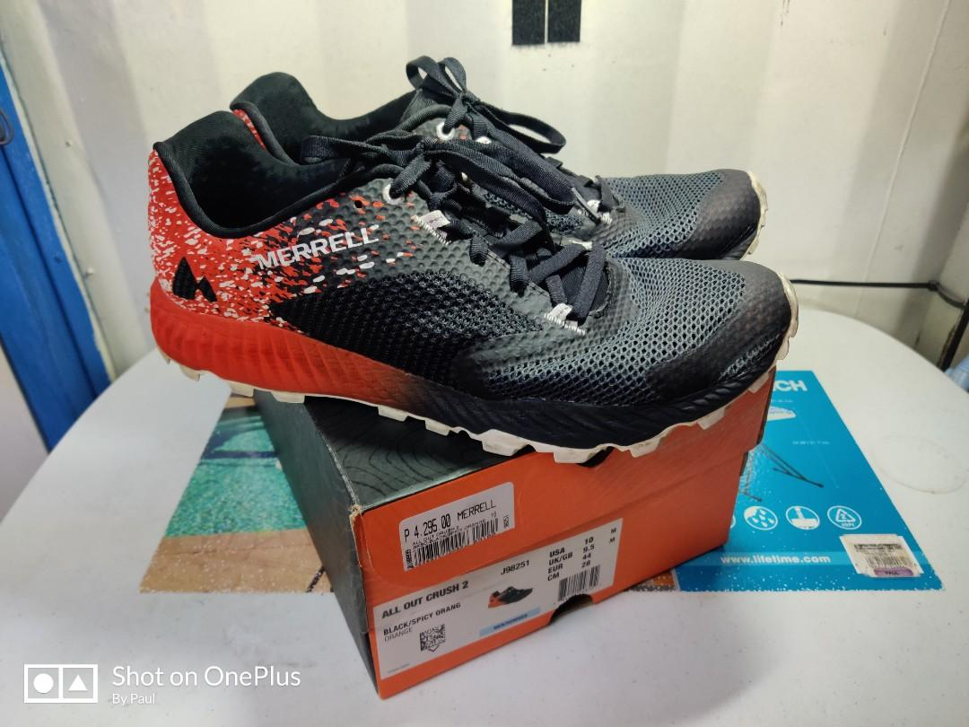 Merrell All Out Crush 2 Mudder, Men's Fashion, Footwear, Sneakers ...