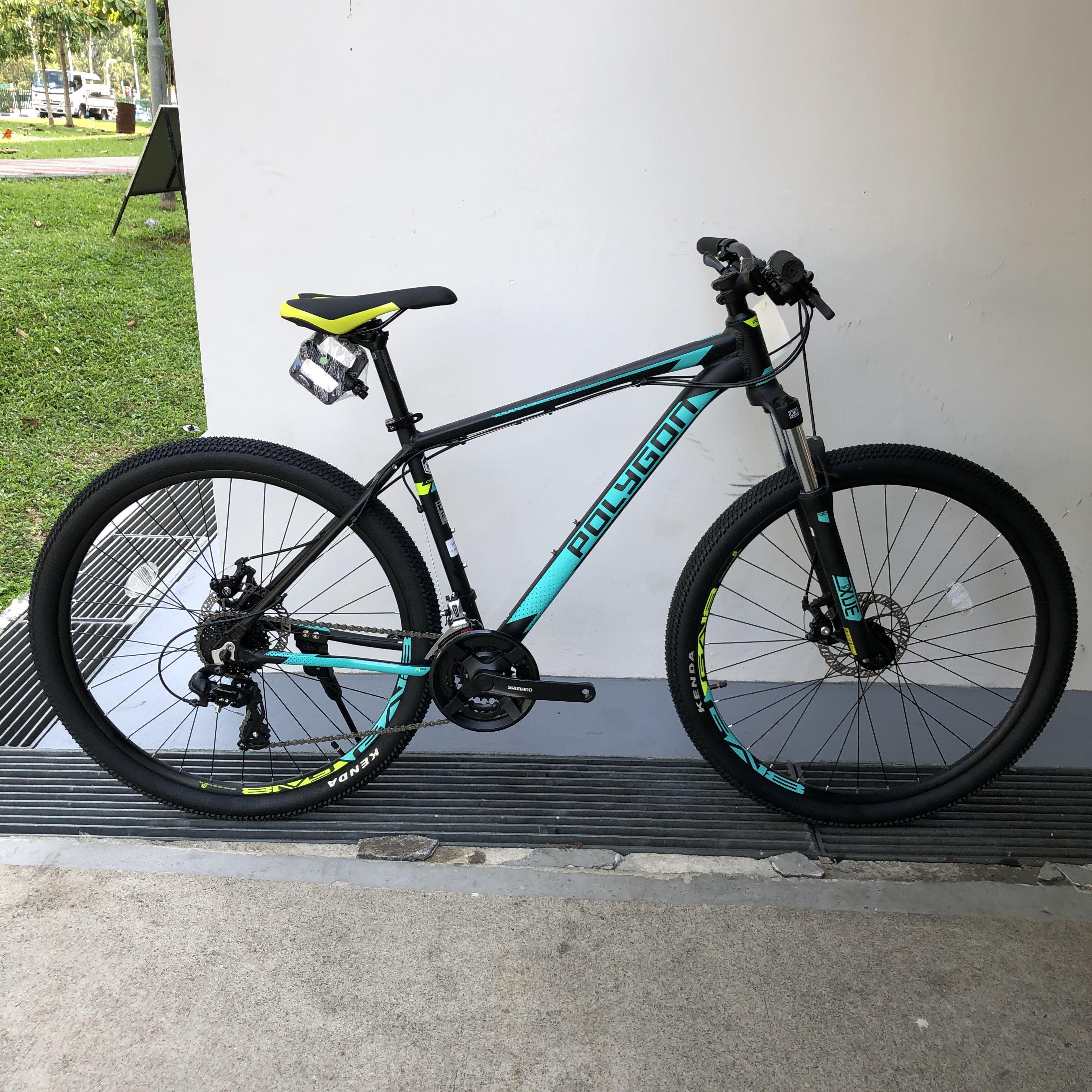 New Polygon CASCADE 4 mountain bike 27.5 medium, Bicycles