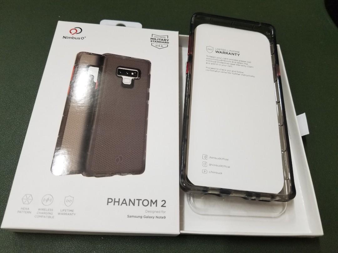 Nimbus 9 Phantom 2 Phone Case for Samsung Galaxy Note9 手機套