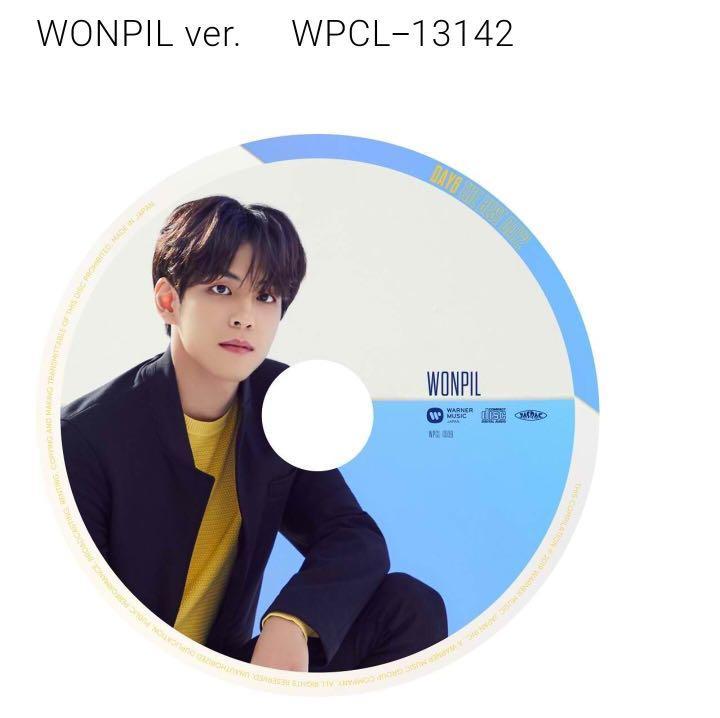 "DAY6 2nd BEST ALBUM ""THE BEST DAY2"" JP [NON PROFIT GO]"