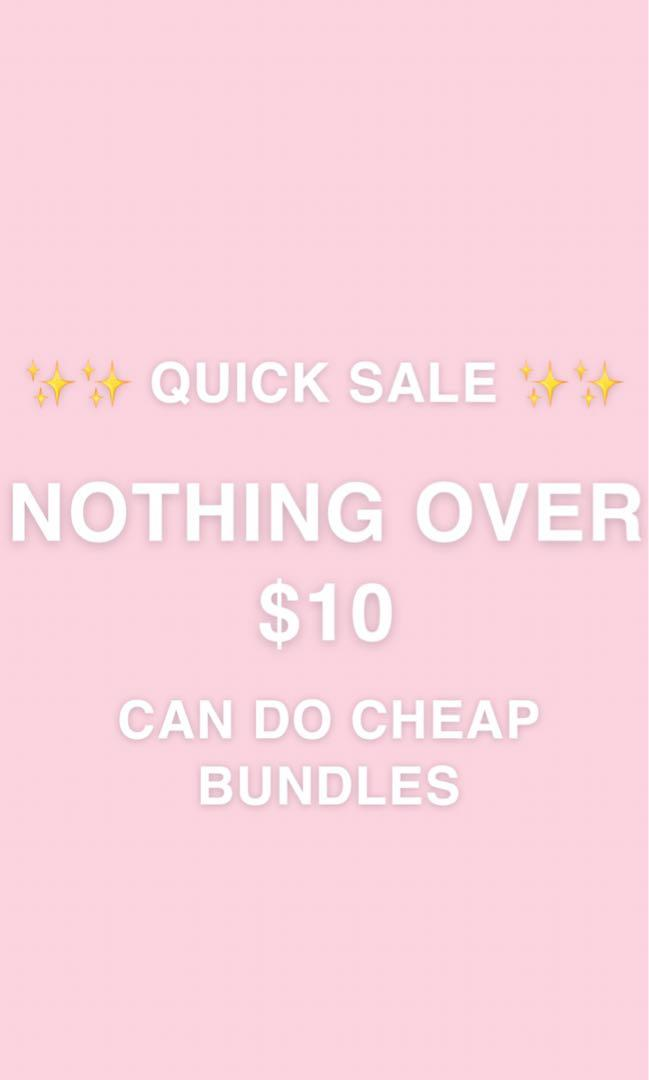 ‼️NOTHING OVER $10‼️ BAGS, FORMAL DRESSES, SHIRTS ETC