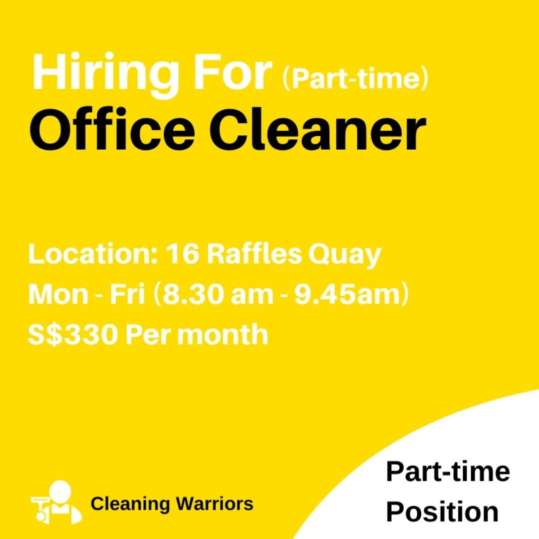 Office Cleaner (Part-time)