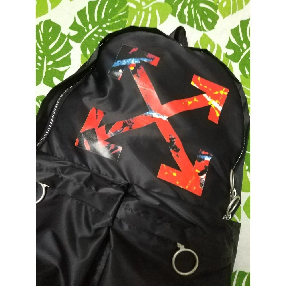 OFF-WHITE 1:1 C/O VIRGIL ABLOH 19SS high version quality Laptop backpack trend backpack waterproof backpack