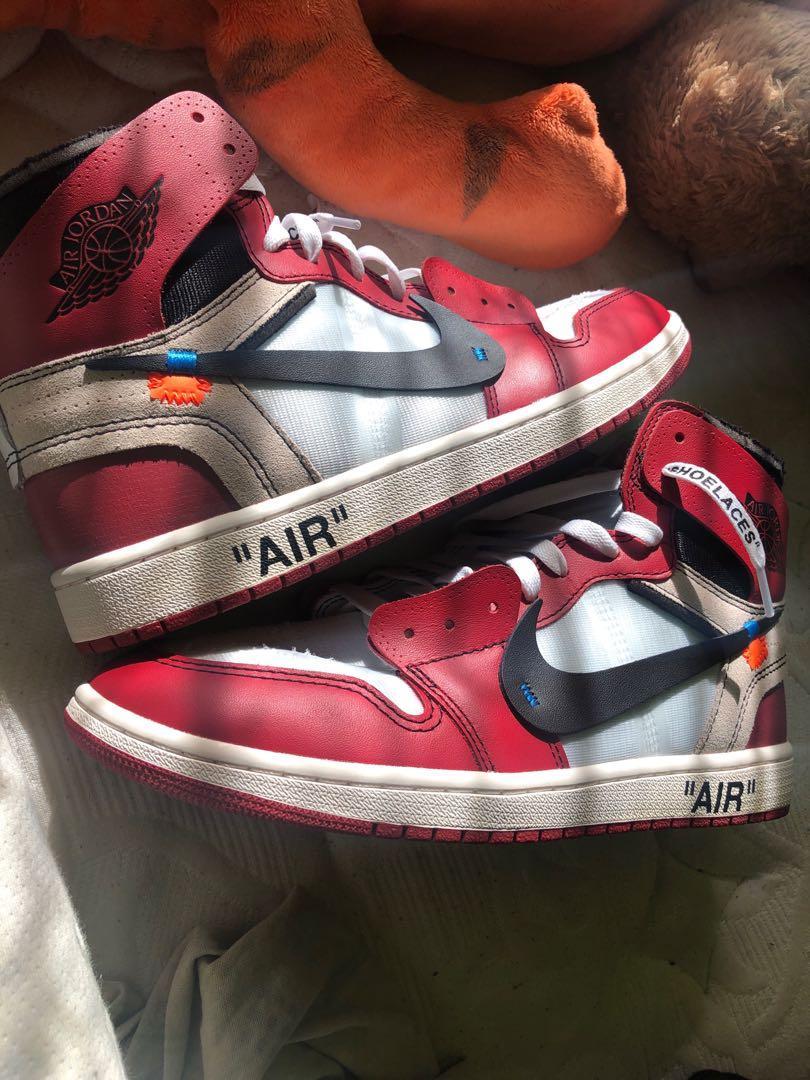 Jordan 1 Retro High Offwhite x Chicago