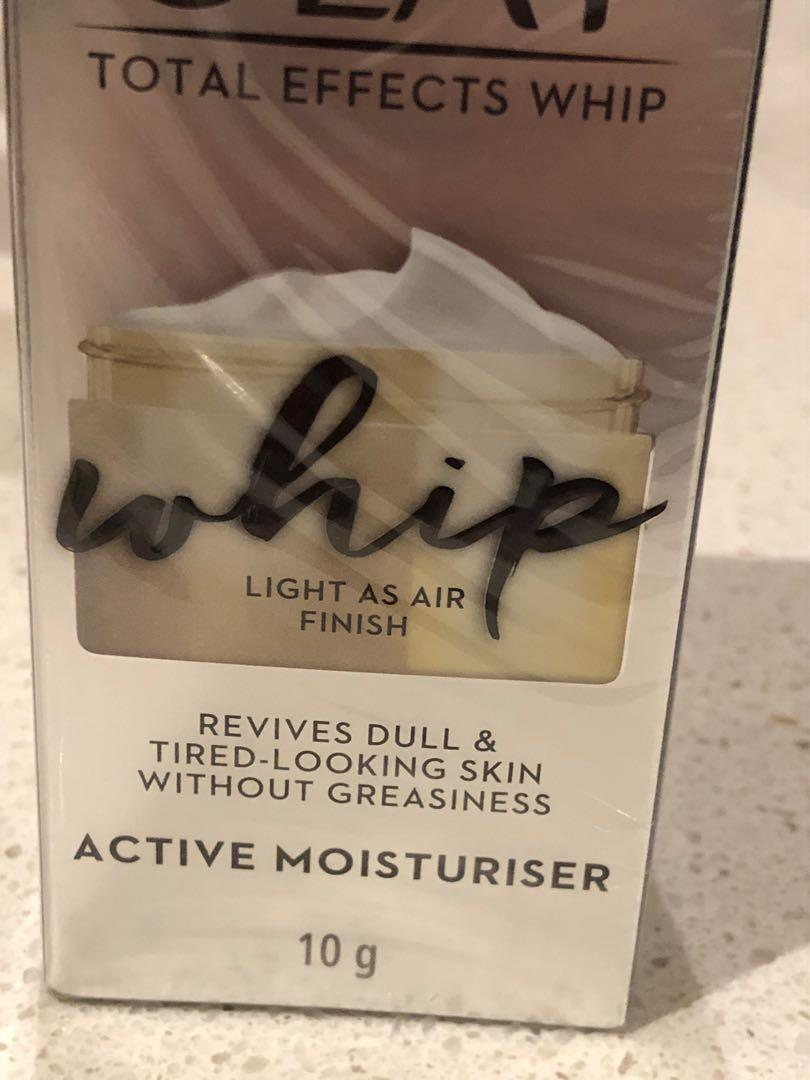 Olay Total Effects Whip Active Moisturiser - brand new