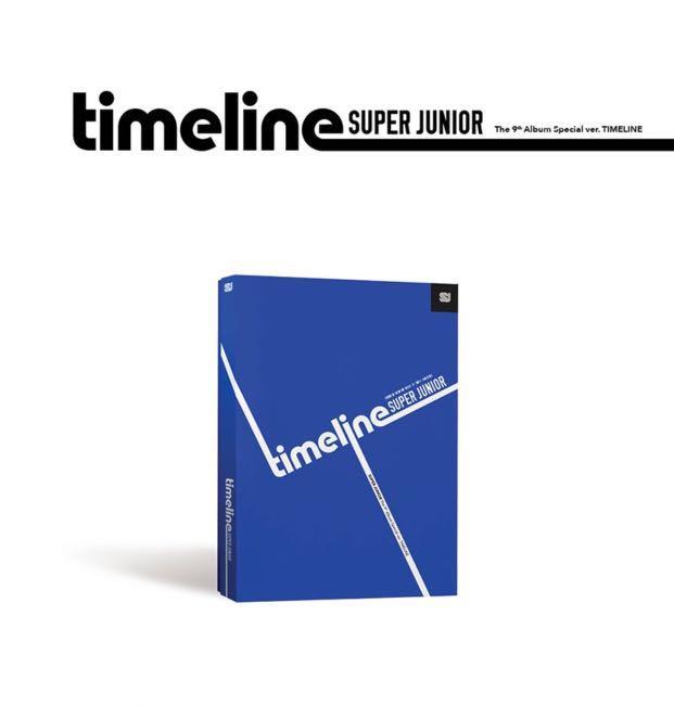 [PREORDER] SUPER JUNIOR 9th Special Album - TIMELINE