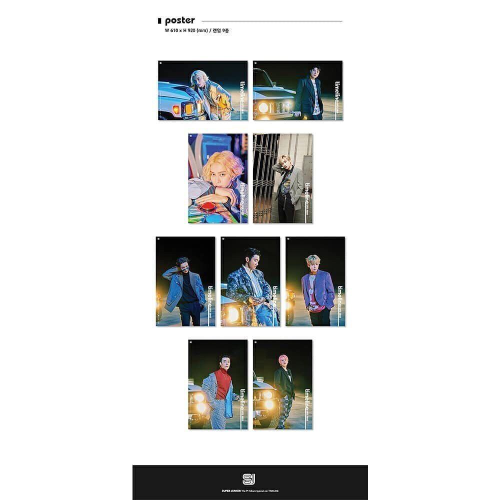 [PREORDER] SUPER JUNIOR - TIMELINE (Special Album)