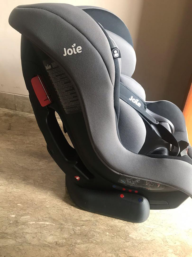Rarely used Joie carseat