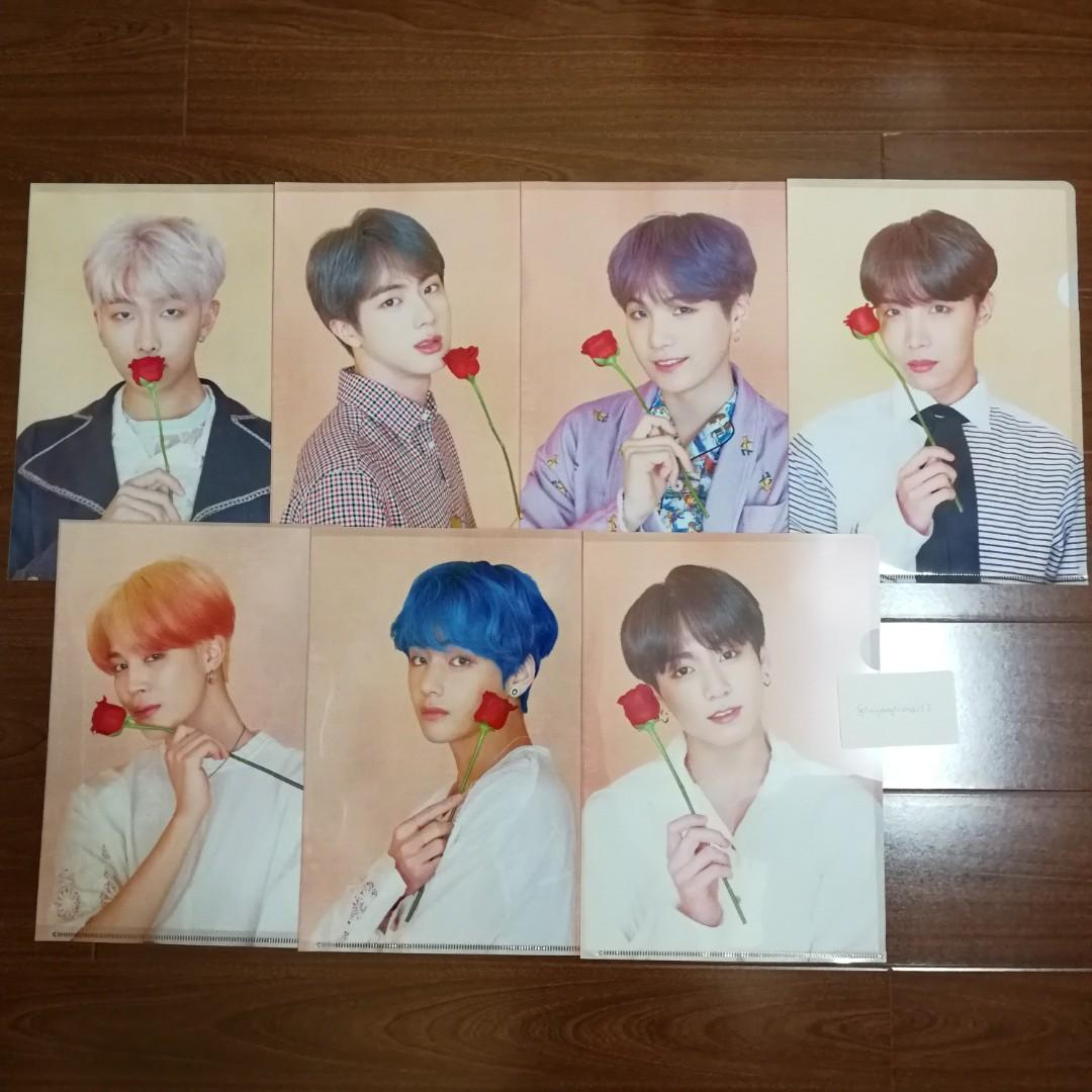 <SOLD> BTS POP UP STORE MD - L HOLDER SET (BTS_HOME)