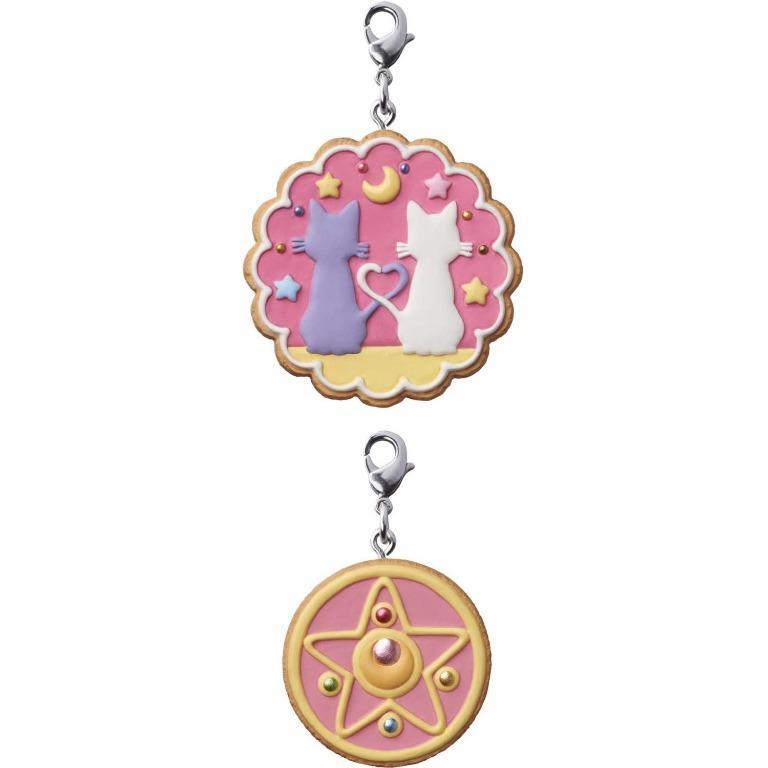 Sailor Moon Patisserie Blind Box Luna & Artemis Cookie Charm Set