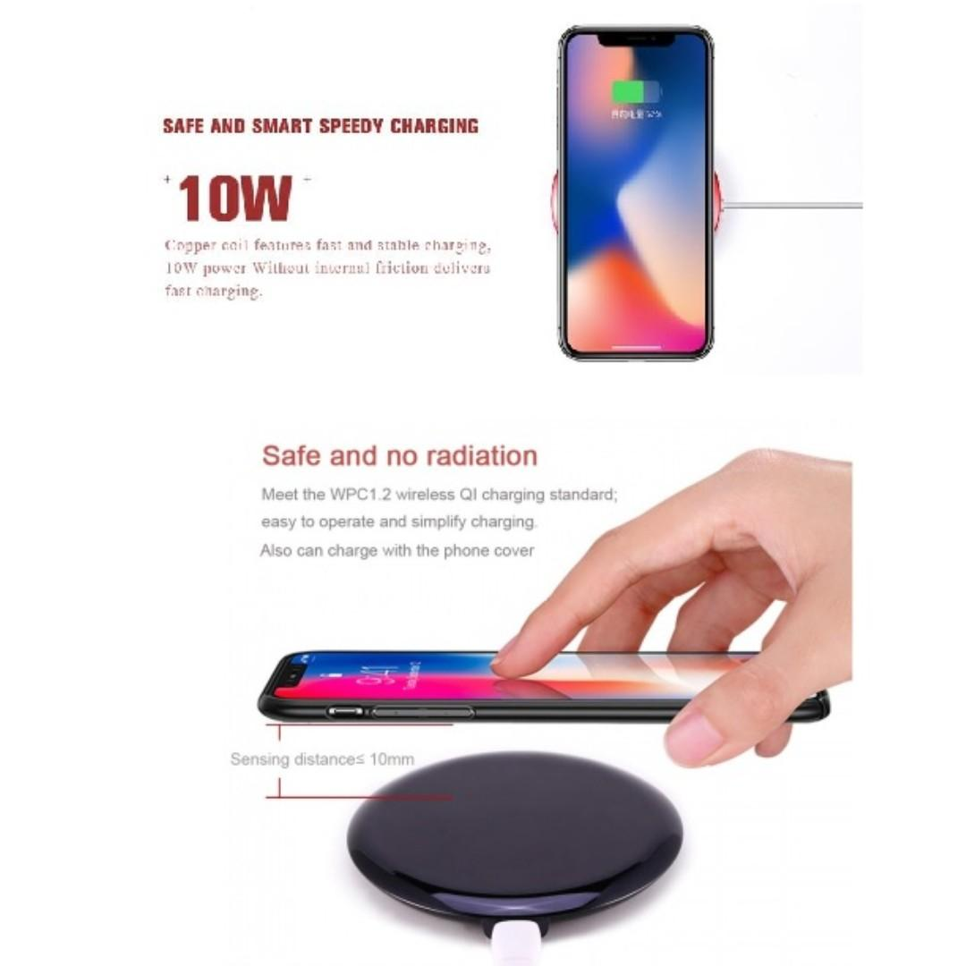*SG SELLER*- REMAX RP-W11 Linon Q1 10W Wireless Charger