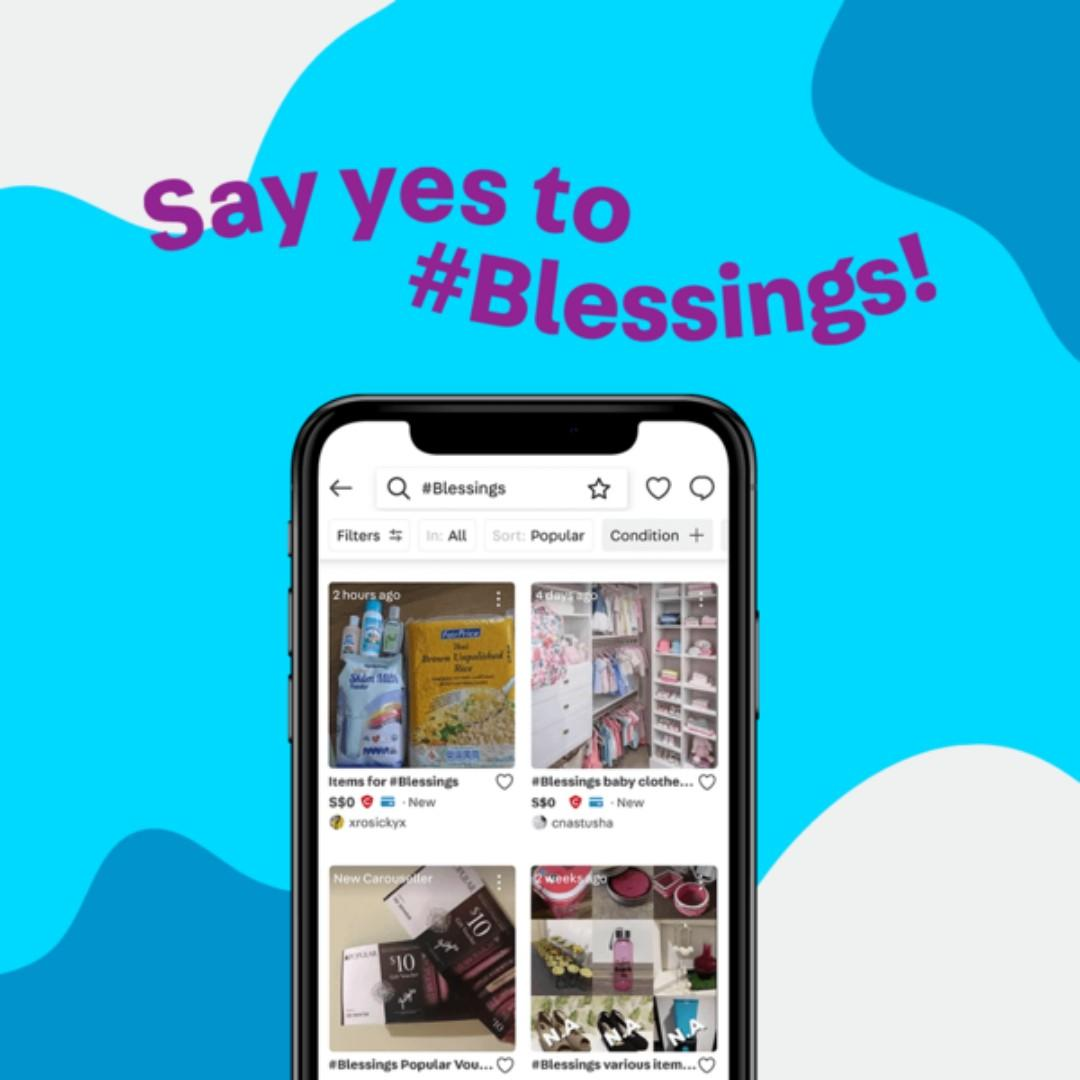 Share your #Blessings today!
