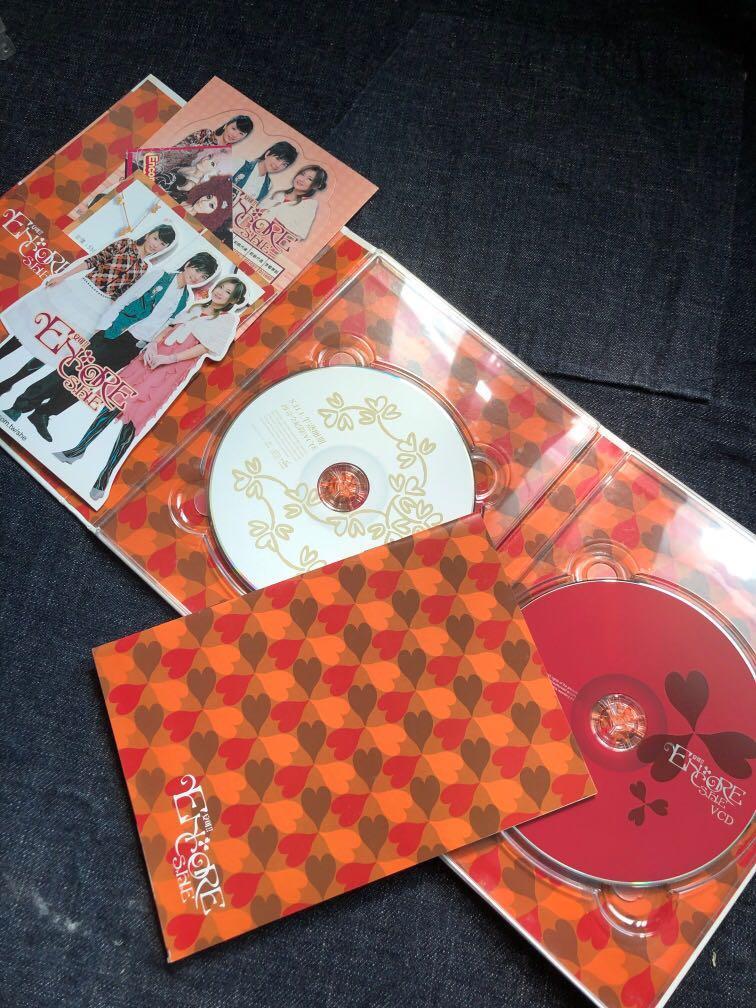 SHE 安可 半熟卵期全記錄 VCD+CD