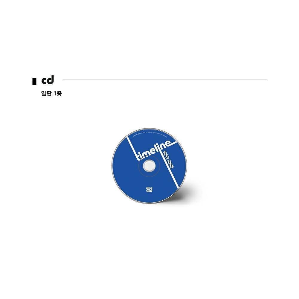 "⚠️NO POSTER⚠️ SUPER JUNIOR 9th special album ""TIMELINE"""