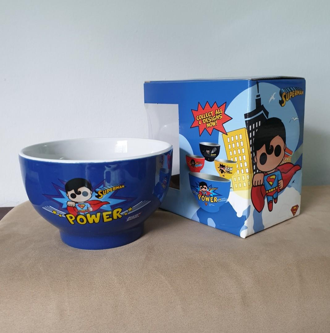 Superman Children Bowl - Justice League Limited  Edition
