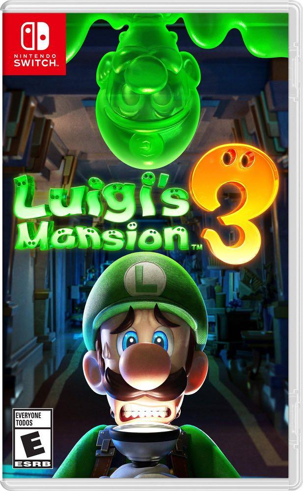 Switch LUIGI's MANSION 3 路易吉鬼屋 3