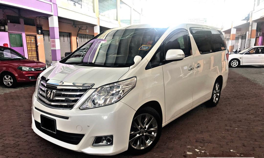 Toyota Alphard 2.5 (A) Kereta Sewa MPV VIP VVIP Selangor