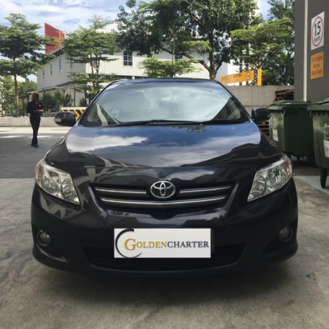 Toyota Altis For Rent, PHV & Personal ready. Gojek weekly rental rebate available.