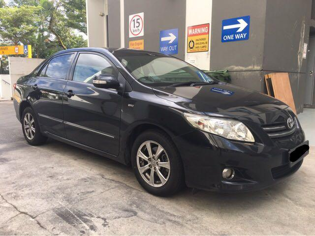 Toyota Altis For Rent, PHV ready. Gojek rebate applicable. Personal rental avail