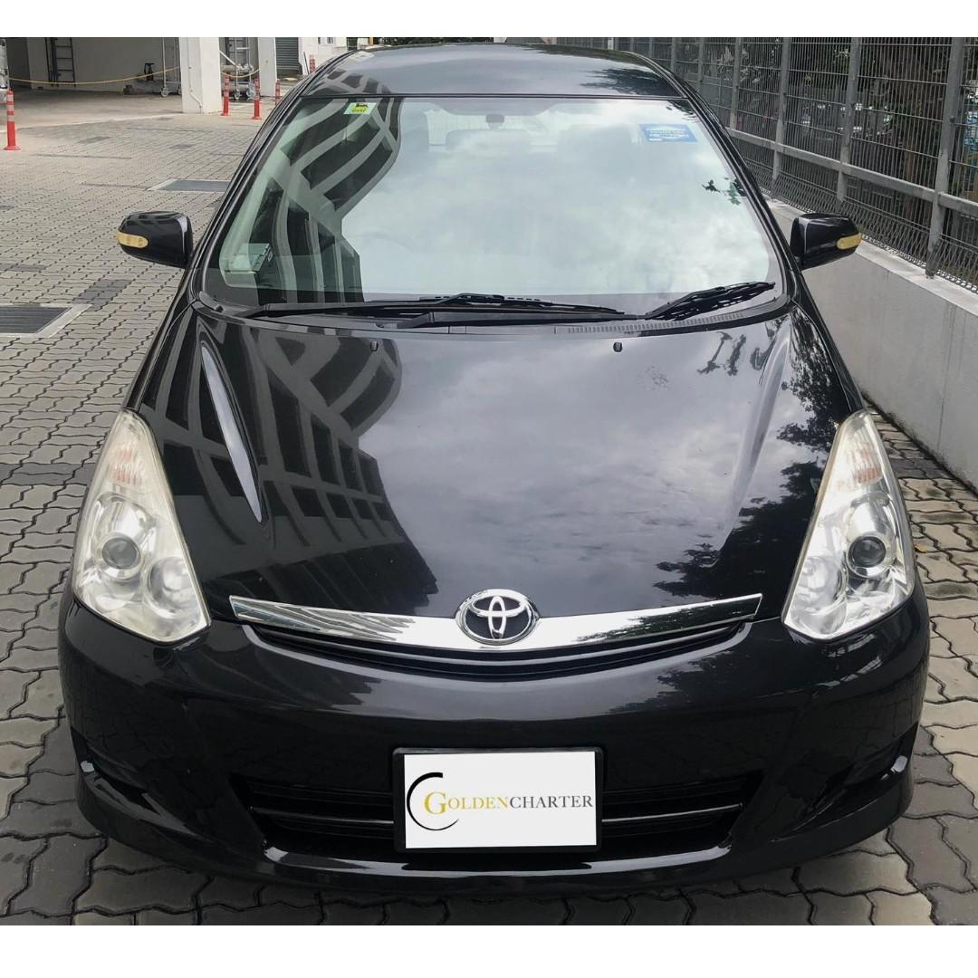 Toyota Wish ONLY $500 deposit Driveaway. Weekly gojek rental rebate available. Personal use welcome