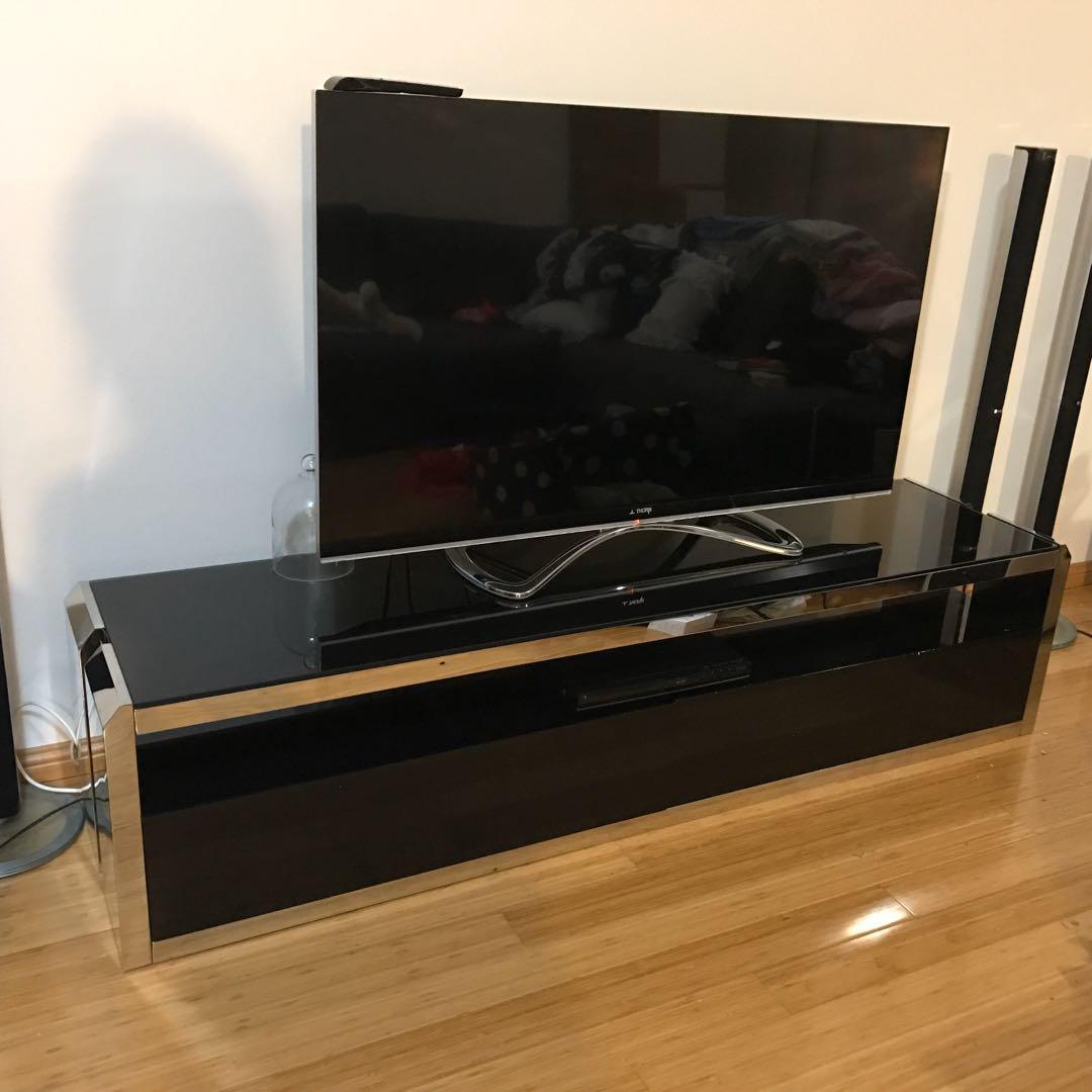 Tv Unit Contemporary Design Harvey Norman In Black