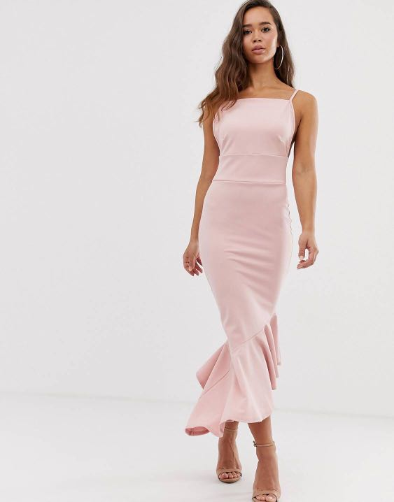 Women's Maxi Formal Dress Cocktail Evening Party Long Frill Dress