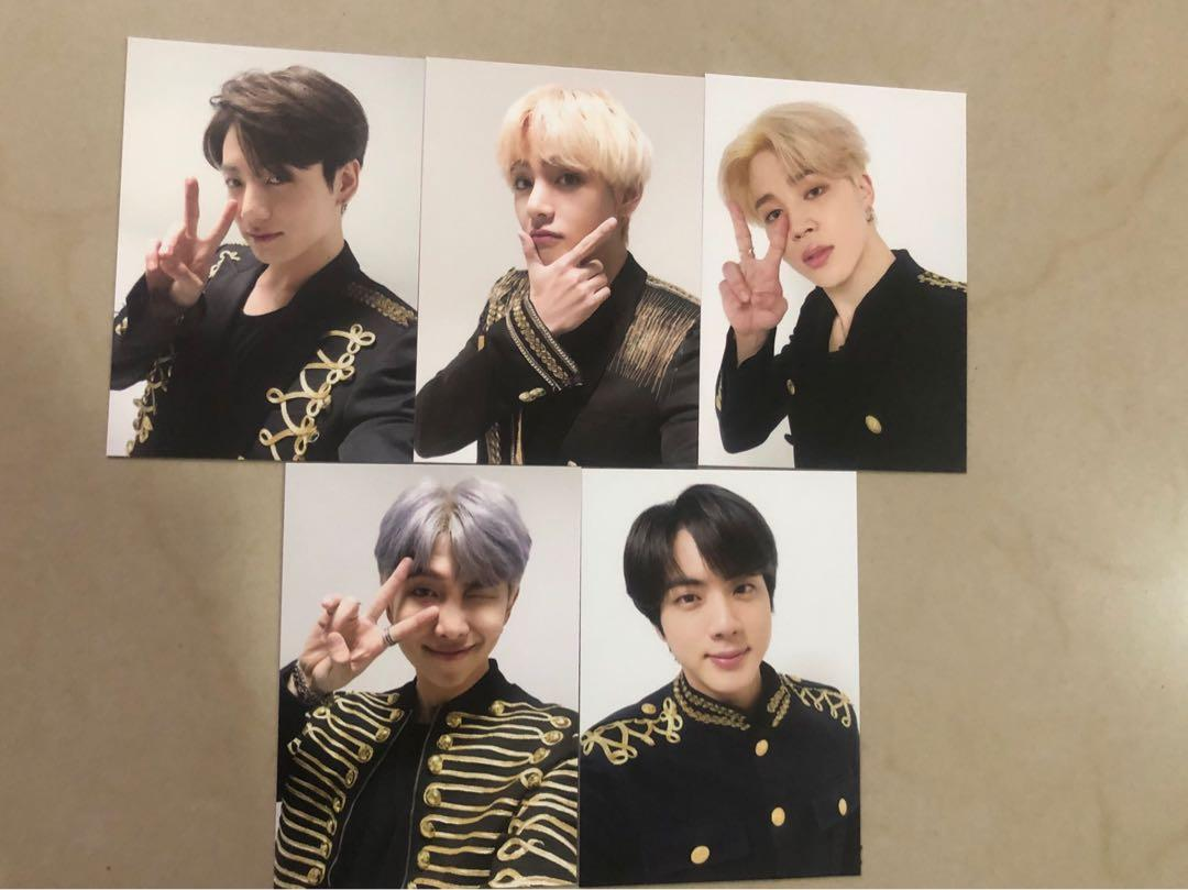 [WTS/LOOSE] BTS SPEAK YOURSELF FINAL MERCH MEMORIAL LABEL TAG PHOTOCARD