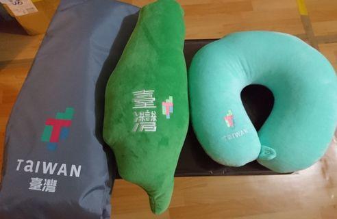 [現貨] 台灣頸枕 2019年總統府紀念品  臺灣頸枕  台灣抱枕
