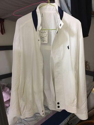 [兩件折百]刺繡古著薄款風衣外套