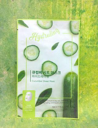 #mauovo Miniso Cucumber Sheet Mask