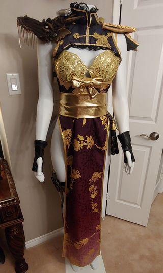 PRIZE WINNING HALLOWEEN COSTUME !!!!!!!! - Custom made Asian Warrior