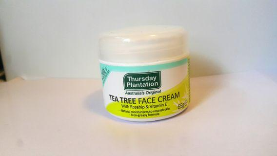[Inc postage] Tea Tree Face Cream