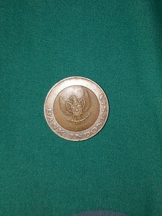 Uang Koin Lama 1000 Kelapa Sawit Tahun 1996