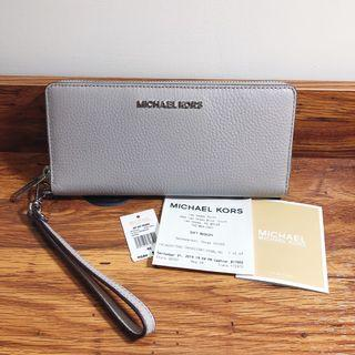 《喀喀。角》美國代購正品 近全新 Michael Kors MK 卡王長夾 拉鍊長夾 手拿長夾 多功能包 手拿包