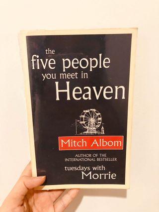 Five people u meet in heaven book