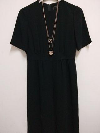 日本品牌黑色洋裝(9.5新)