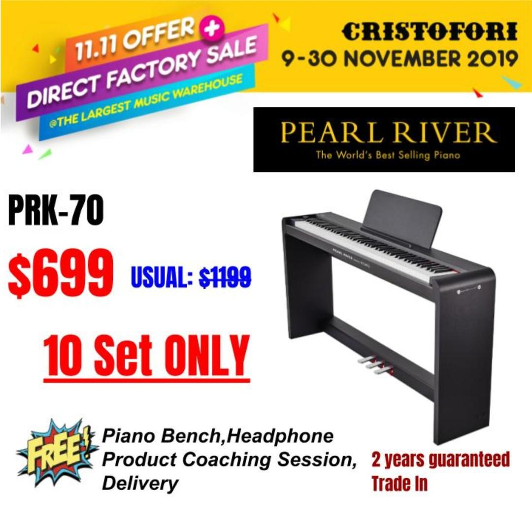 11.11 CRISTOFORI LARGEST MUSIC WAREHOUSE SALES !!! PRK-70 Japanese Natural Weighted Hammer Action, LIMITED 10 Sets ONLY !